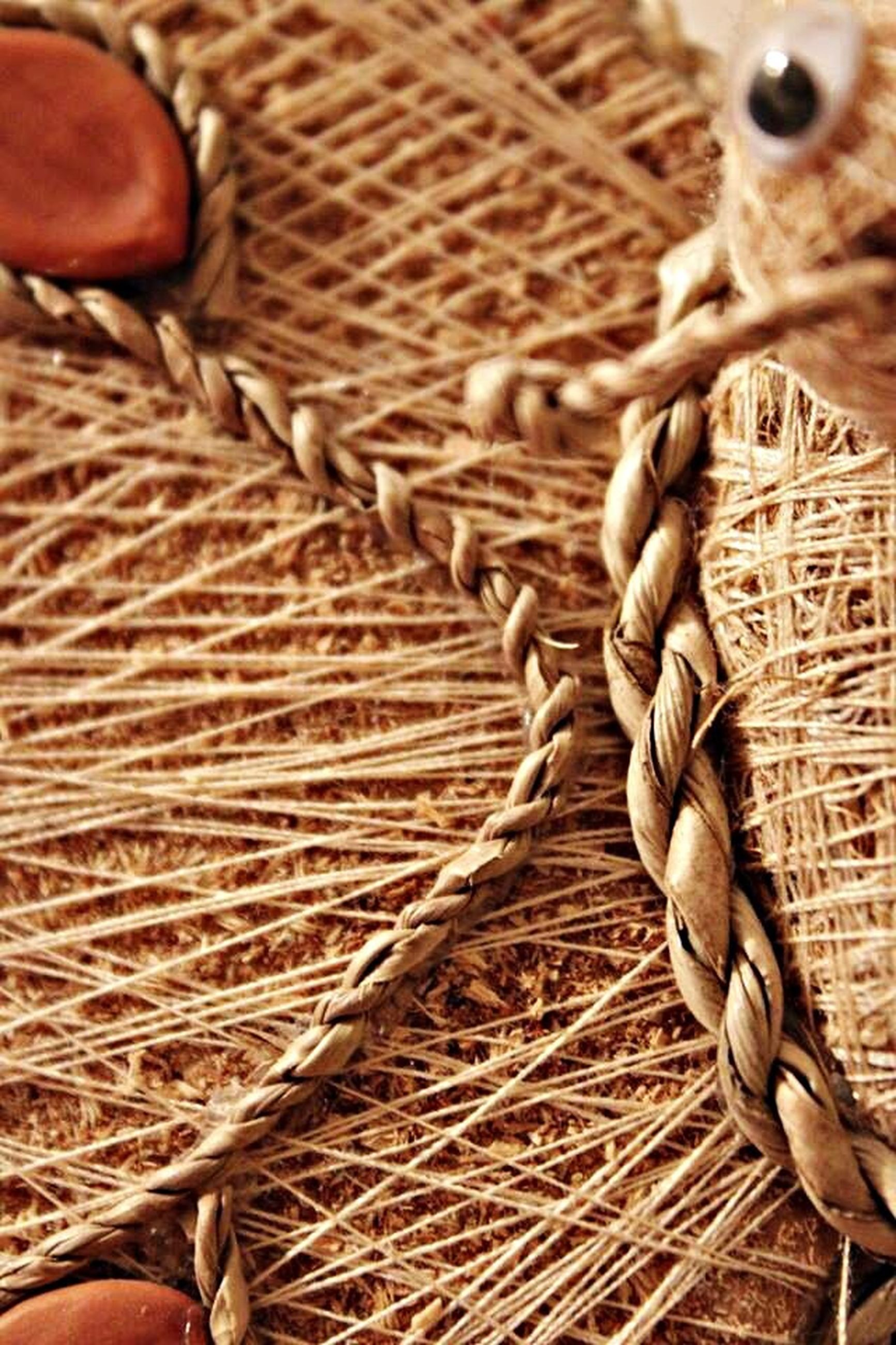 part of, close-up, wicker, hay, agriculture, one person, brown, cropped, focus on foreground, abundance, indoors, pattern, basket, high angle view, rope, farm, day, field, wood - material