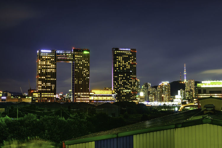 Architecture Building Building Exterior Built Structure City Cityscape Cloud - Sky Financial District  Glowing Illuminated Landscape Modern Nature Night No People Office Building Exterior Outdoors Residential District Sky Skyscraper Tall - High Urban Skyline