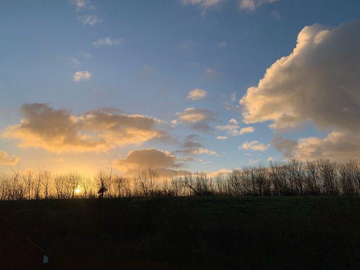 #MobileSky #sunrise #clouds #sky #sun