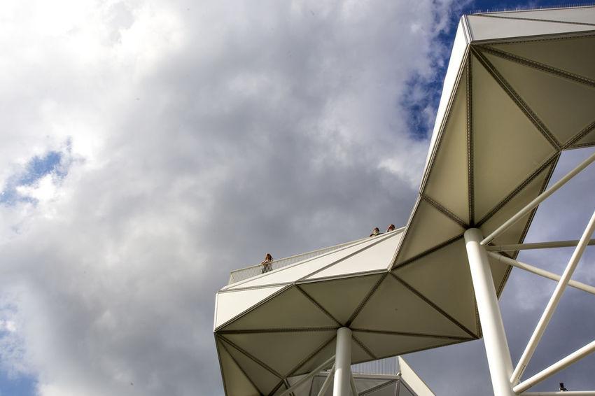 IGA2017 in Berlin/Mahrzahn. Architecture Architecture_collection Berlin Berlin Love Berlin Photography Gartenarchitektur Gärten Der Welt IGA2017 Mahrzahn Parkanlage Sky And Clouds Ausstellung Berliner Ansichten Berlinstagram Iga Park Skywalk Skywalker The Architect - 2018 EyeEm Awards
