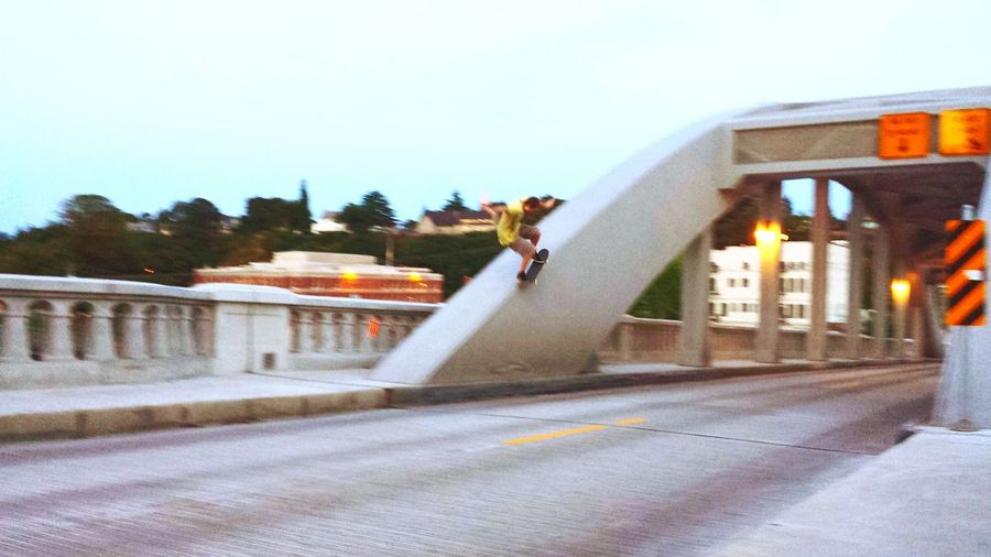 Skate Or Die Off The Bridge Riding The Arch Skatelife Hesh Skill  Fun