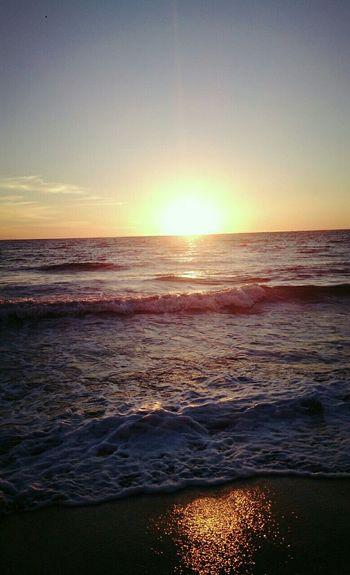 Ocean Ocean View Pacific Ocean Traveling Enjoying The View Sunrise Sun Horizon Nature Photography No Filter