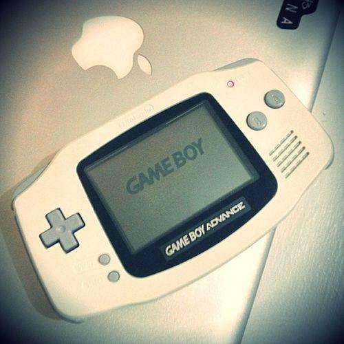 My new previously! GBA Nintendo Gamer Geek nerd apple picoftheday