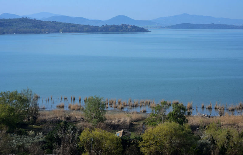 Water Scenics - Nature Tranquility Tranquil Scene Beauty In Nature Mountain Outdoors Idyllic Lake Lake View Nature Sky Land Non-urban Scene No People Plant Tree EyeEmNewHere EyeEm Best Shots EyeEm Best Edits Trasimenolake Italy Beauty In Nature