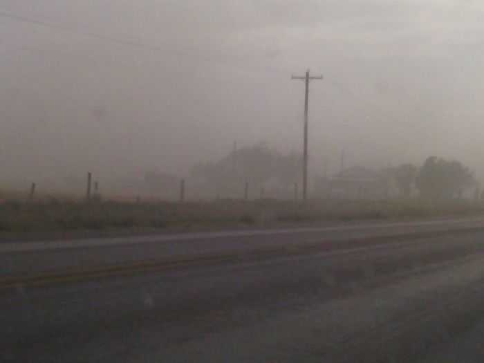 dust storm just outside hobbs new mexico engulfing a house Taking Photos Traveling Outdoors Dust Storm