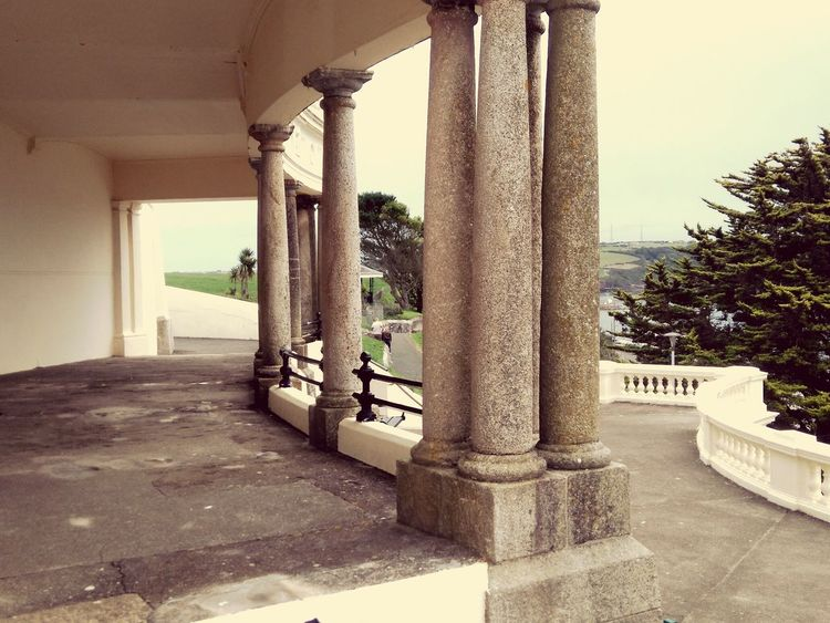 Water Sky Colonnade Historic Building Passageway History Passage Column Historic Building