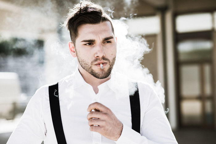 Boyfriend Italy Adult Adults Only Beard Boyfriend Caucasian Human Body Part Human Face Italian Italian Style Lifestyles Men One Man Only One Person One Young Man Only Only Men People Real Life Real People Smoke Smoking Watching Young Adult Young Men