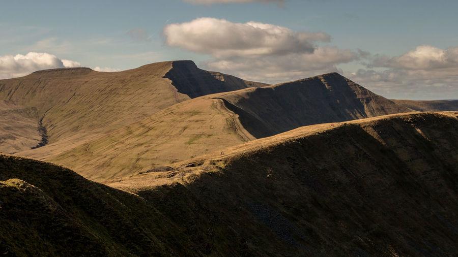 Mountains Breconbeacons Wales Landscapes EyeEm Best Shots EyeEm Best Shots - Landscape Hill Sky Landscape Cloud - Sky