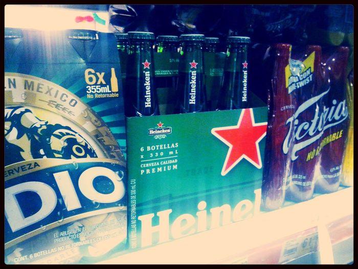 unas Heineken para celebrar