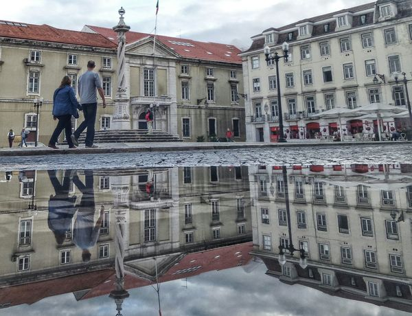Lisboa, Portugal EyeEm Best Shots Landscape The Places I've Been Today The Traveler - 2015 EyeEm Awards Water Reflections Traveling The Street Photographer - 2015 EyeEm Awards Global EyeEm Adventure - Lisbon Eyem Lisboa Lisboa Portugal Popular Lisboa Light And Shadow Landscape_Collection On The Road