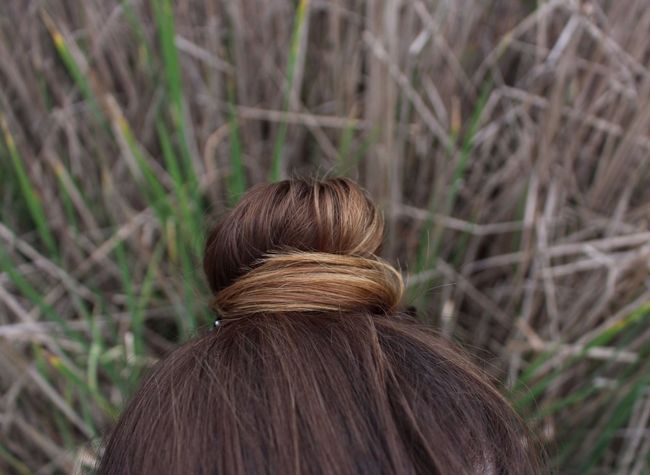 Adult Blonde Brown Hair Bun Day Grass Headshot Long Hair Nature One Person One Woman Only Outdoors Real People Women Young Adult Beautyinnature