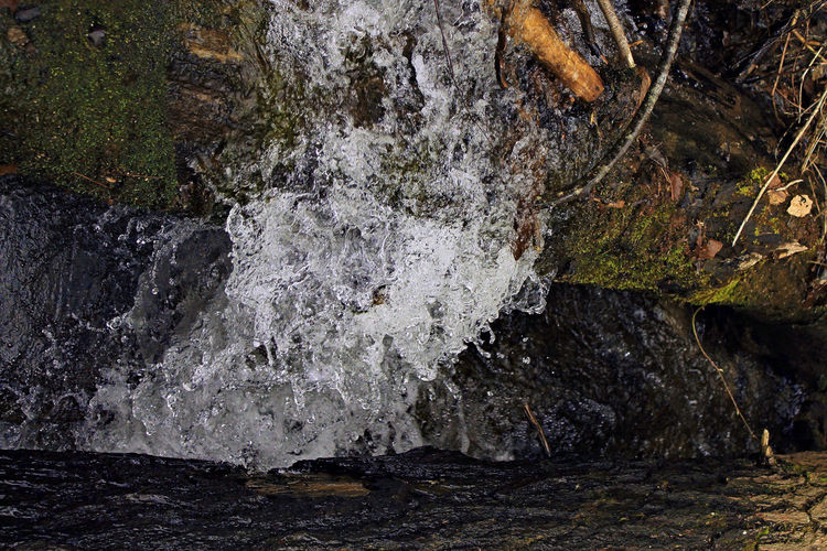 Beauty In Nature Close-up Day Freshness Motion Nature No People Outdoor Photography Outdoors Rock - Object Rock Formation Water Waterfall