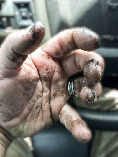 Dirty Hands Hard Work Close-up Hard To Clean Man Check This Out That's Me Taking Photos The Portraitist - 2016 EyeEm Awards