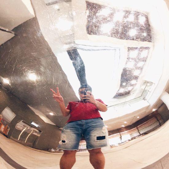 After Training Selfie ✌ Distortion