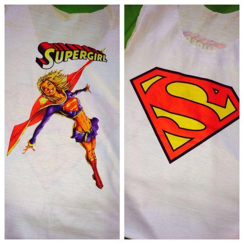 Blusa SuperGirl