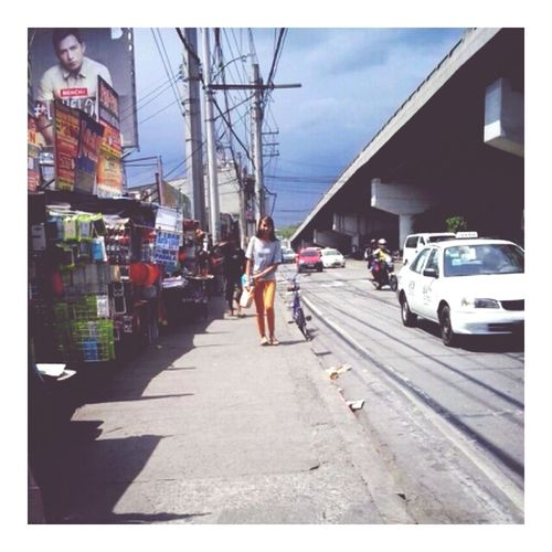 Never will I forget this road and the people behind it. :) Katipunan Quezoncity Philippines