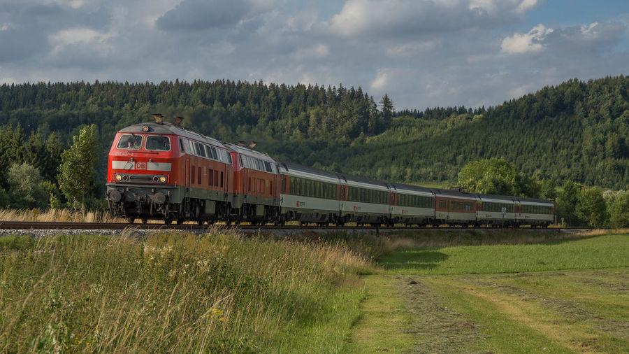218 Eisenbahn Intercity Railway SBB