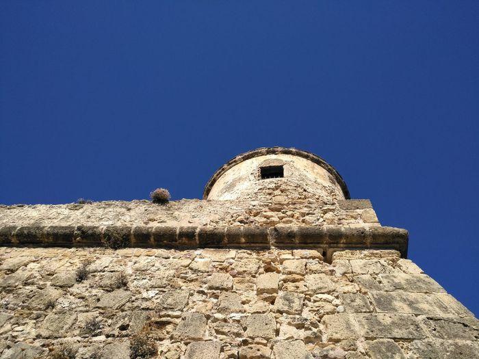 EyeEm Selects History Travel Destinations Pyramid Architecture Ancient Civilization Day Old Ruin Religion Blue Outdoors No People Clear Sky Sky Alghero, Sardinia, Italy Alghero ❤ Alghero Sardegna Nofilter