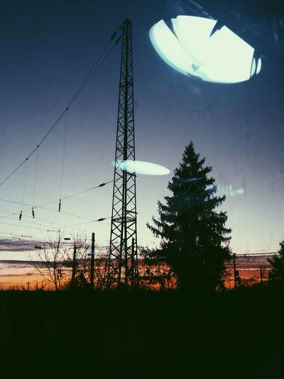 Trainview Colorful Sunrise Moment