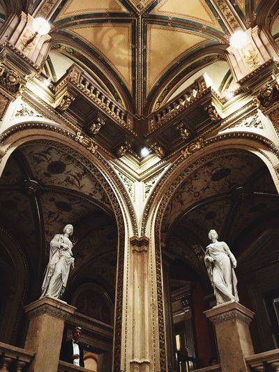 Operahouse Wiener Staatsoper Architecture Architecture_collection Ancient Architecture Historical Building Vienna