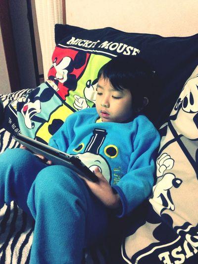 Pidol Is Watching Inazuma 11 Go On His Ipad...