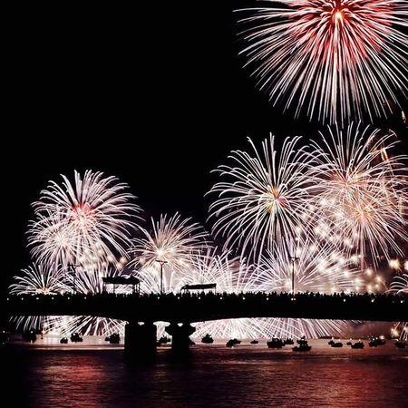 花火 Fireworks Japan Matsue