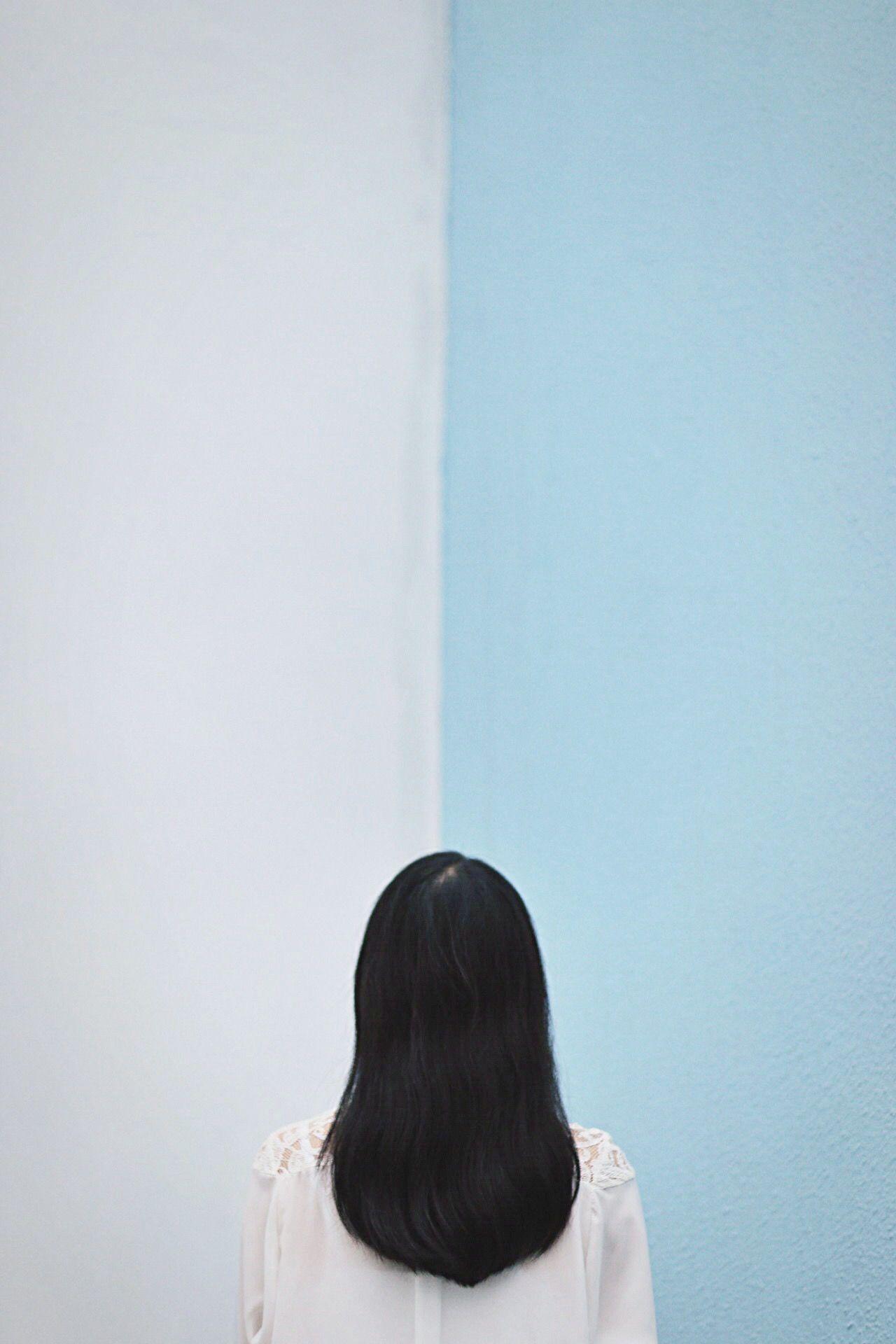 Blue, Copy Space, Headshot, Indoors, Lifestyles