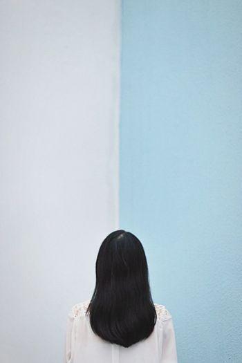 HongKong Urban Urban Geometry Urban Landscape Girl Asian  Blue Dreaming Pastel Power Blue Wave Pmg_hok Press For Progress