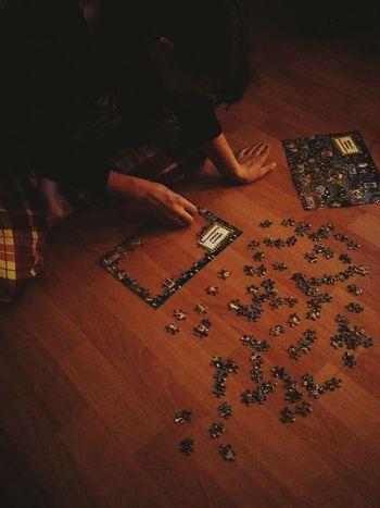 Puzzles Hands Creativity Lamplight Waldo Where's Waldo? Floor