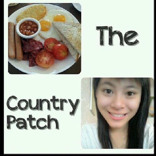 Morning Hving Breakfast At country patch with family love it... hahaha ♥♥ @xiao_fung666 morning bii