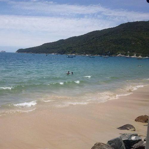 Felicidade é um fim de tarde olhando o mar! Floripa Praiadosingleses MuitoAmor Paraíso Paradise Florianópolis Forfun Paz Férias Brasil