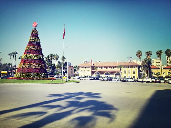 Keep Calm and Carry On Walking Around City Center In Adana