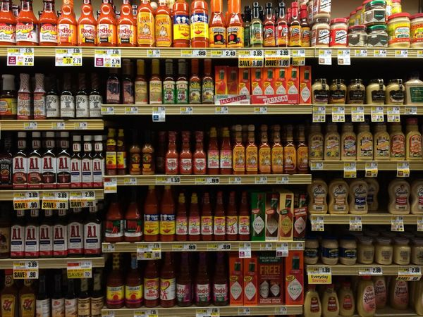 I loved hot sauce ??