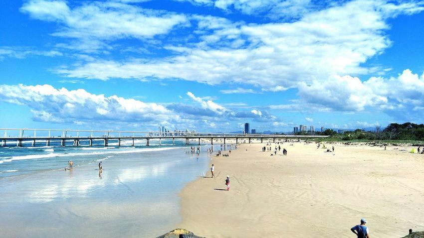 Beach Sea Sky Nature Blue Summer