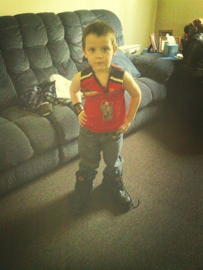 Connor In My Boots Lol