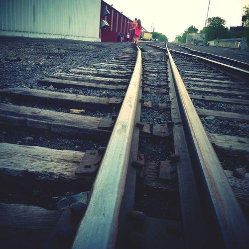 Art A Whirl Weekend Walking On Train Tracks Art A Whirl AAW 2013