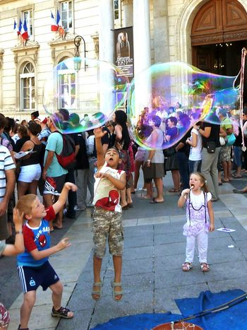 Festival AvignonFestival Avignon, France Game Happiness Soap Bubbles EyeEmNewHere The Street Photographer - 2017 EyeEm Awards