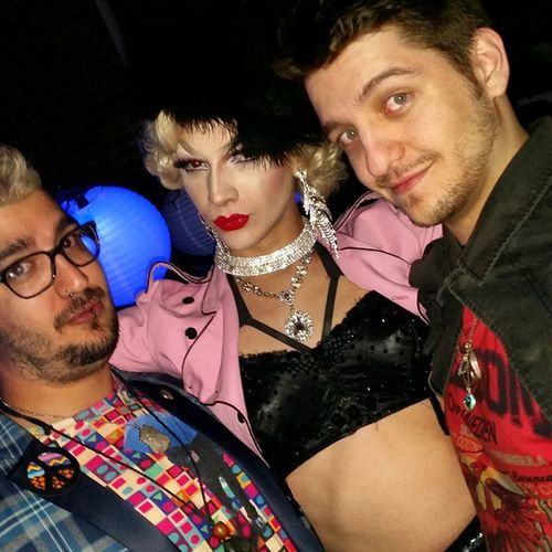 @violetchachki! You are fabulous human! Thanks for the chat and enjoy the rest of your time here! @wildeyedboy91 💜💜💜💜💜💜 Violet Violetchachki Somuchfabulous Cinchedforthegawds poodlerealness somuchfish drag dragqueen bros draglife rpdr7 @itdevents you guys rock!