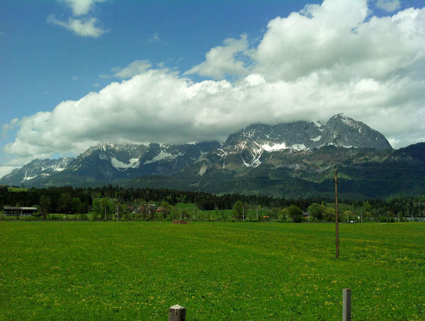 Landscape Mountain Oberndorf In Tirol Sky Tirol  Austria Tirol Auszria Oberndorf Austria Austria Mountains Clouds Clouds And Sky