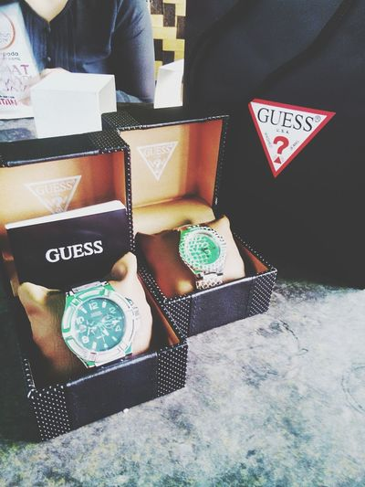 GUESS me GUESS what Kuala Lumpur Malaysia  new watch For Him and For Her