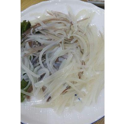 CUSTOM HASHTAG 오징어 회 야식 먹방 먹스타그램싯가일식