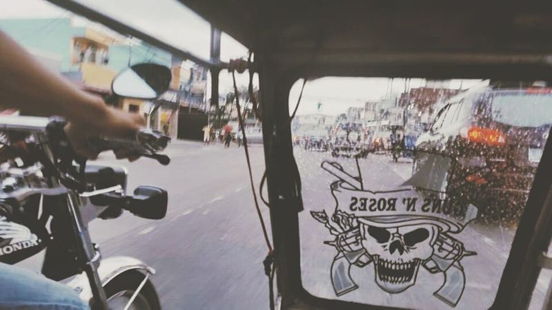 life or death in MNL Transportation Mode Of Transport First Eyeem Photo Tricycle Trike Manila Philippines Street