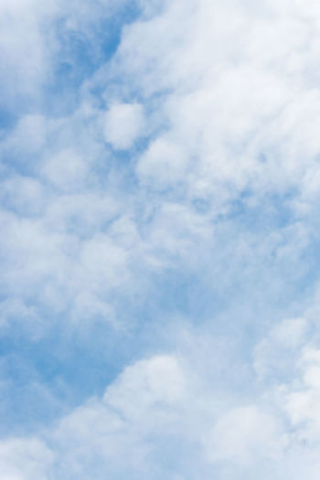 Sky. Blue sky.