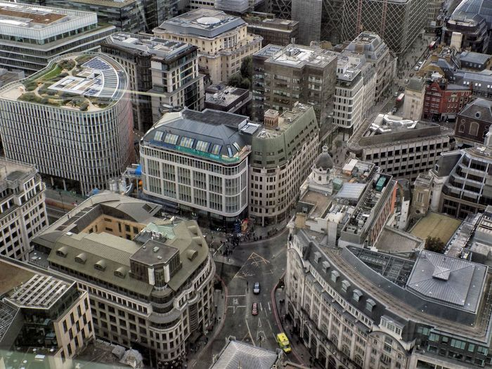 LONDON❤ London Aerial View Architecture Building Exterior Built_Structure City Cityscape Day High Angle View No People Outdoors Skyscraper Fresh On Market 2017