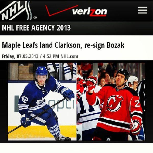 Freeagencyfrenzy NHL NJDevils Good bye, Clarkson !