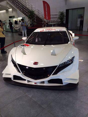 New HONDA NSX GT Prototype Honda