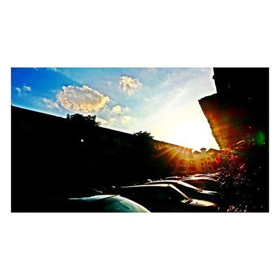 Sepetang Sunset Myhome Ampang niceshoot nicesun Amazing