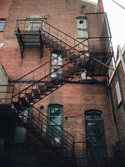 Low angle view of stairs