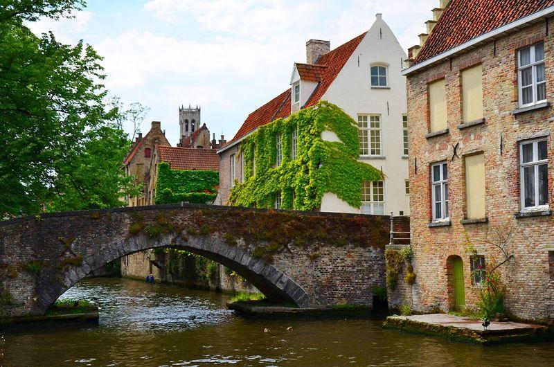 Old Bridge Across Canal