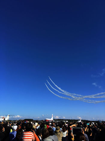 Iruma Air Base Airshow Skyporn 体形を組んで、急上昇! Autumn Colors Fall Colors Airplane EyeEm Best Shots Blue Blue Sky